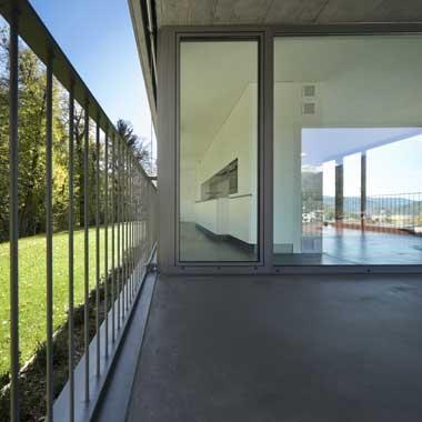 Maison ouverte sur la nature
