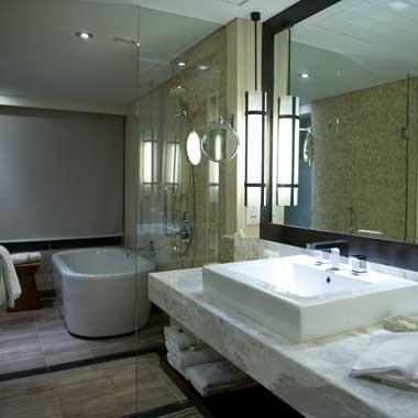 Une salle de bain design